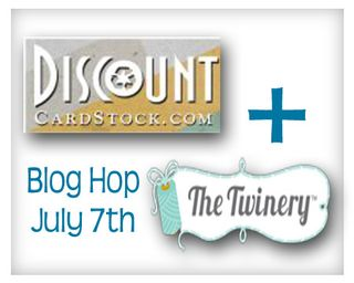 NEW DiscountCardstockTwinery hop logo
