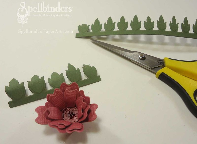 Cardstock-rose-with-leaves