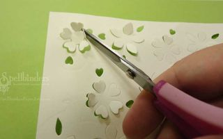 Cutting-out-flowers
