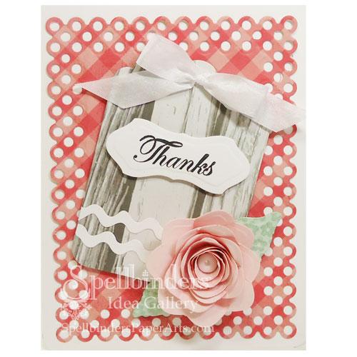 0512 DS CD Spiral Blossom Thanks Card 500