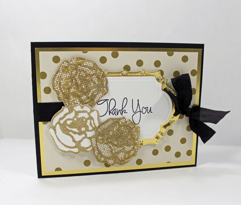 Deb seyer sparkly rose thank you