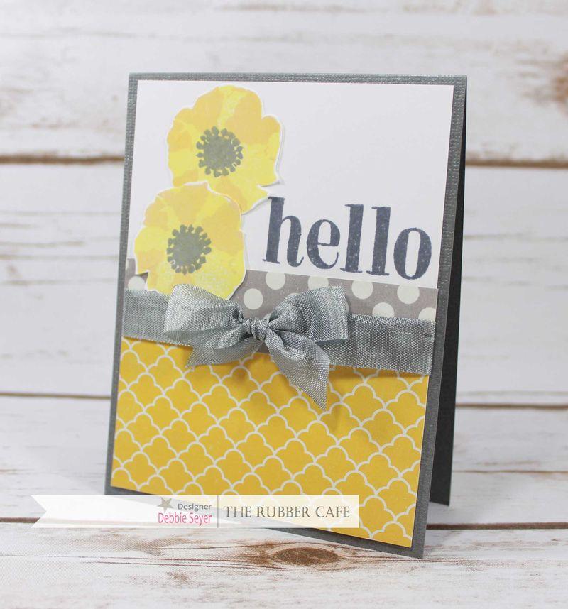 Yellow-Gray-Hello-Card
