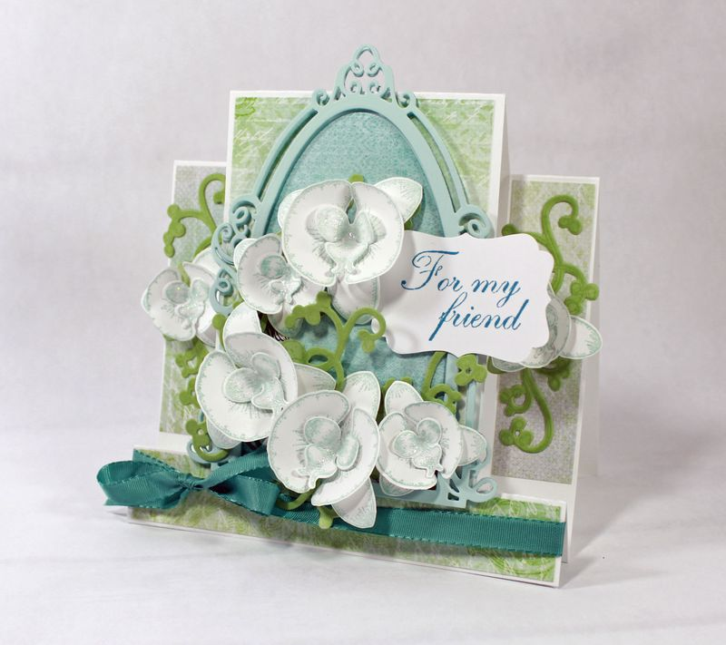 Orchid-Step-Card